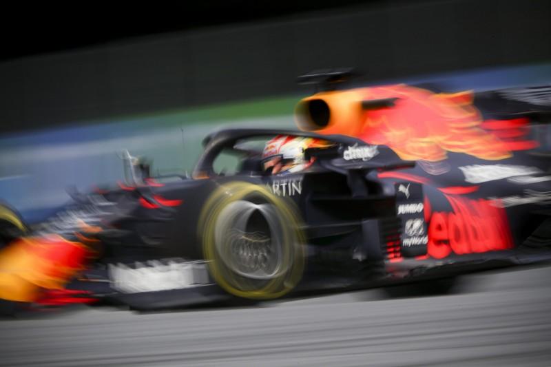 """Red Bull an der Spitze: Verstappen freut sich über """"besseres Gefühl"""" im RB16"""