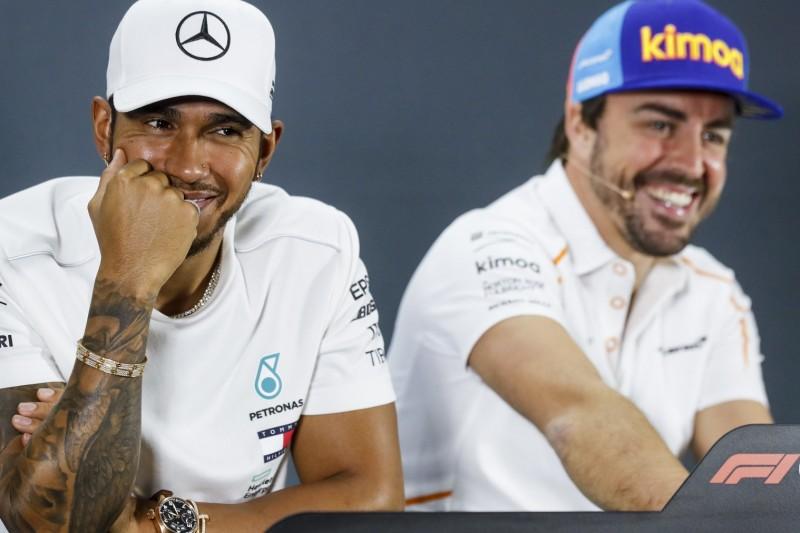 """Hamilton hat keine Zweifel: Alonso wird 2021 in """"großartiger Form"""" sein"""