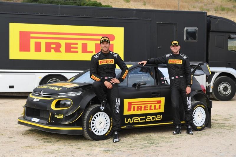 WRC 2021: Pirelli beginnt mit Reifentests auf Sardinien