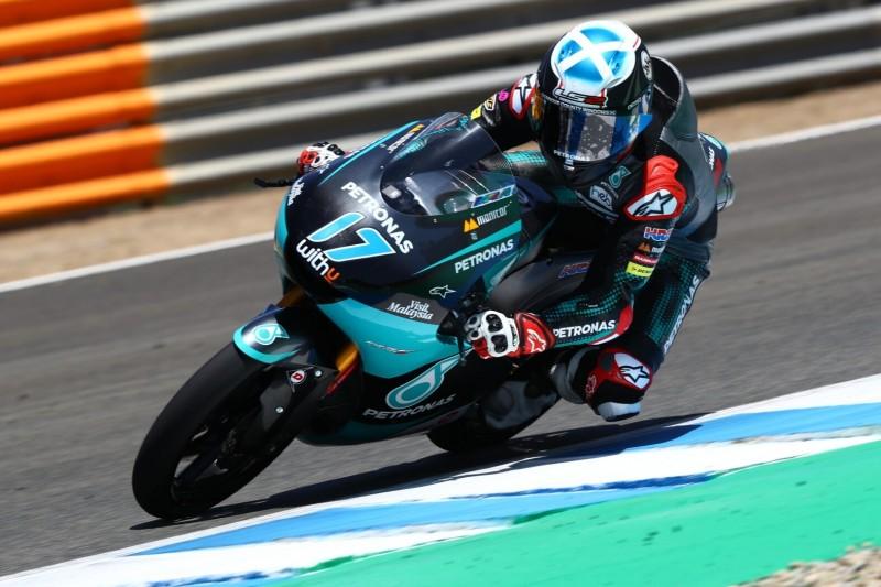 Moto3-Test in Jerez: Souveräne Bestzeit von John McPhee