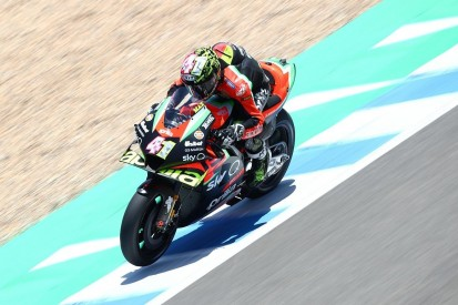 Aprilia beim Jerez-Test stark im Longrun, Zuverlässigkeit ein Fragezeichen