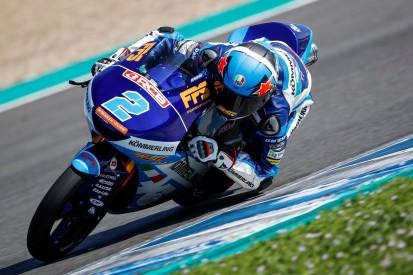 Moto3 Jerez FT1: Gabriel Rodrigo fährt Bestzeit, Max Kofler auf Position 27