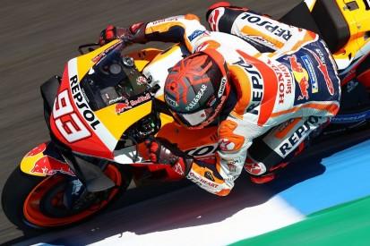 MotoGP Jerez FT1: Marquez vorn, drei KTMs in den Top 10, Rossi nur 13.