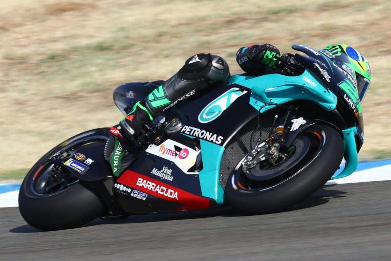 MotoGP Jerez FT2: Morbidelli fährt Bestzeit, Rossi nur auf Position 20