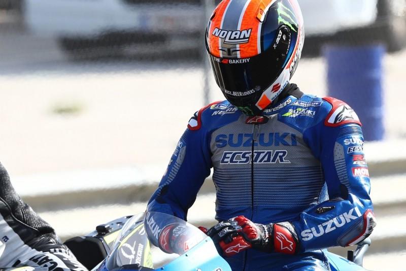 Start in Jerez fraglich: Alex Rins bei Sturz an der Schulter verletzt