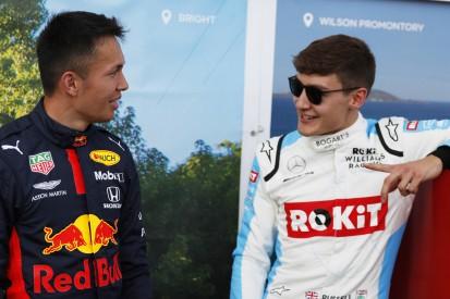 """George Russell kritisiert Red Bull: Albon hat """"ausgesehen wie ein Idiot"""""""