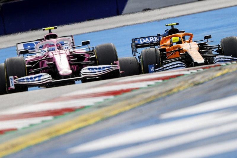 McLaren-Teamchef Andreas Seidl: Racing Point wird so stark bleiben