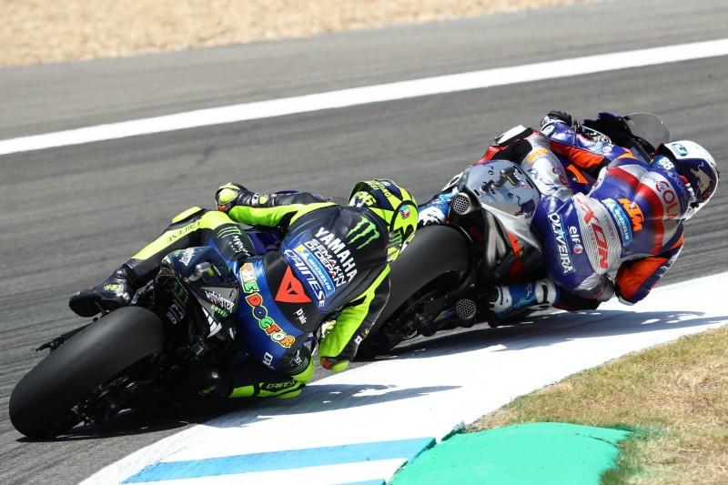 Technischer Defekt beendet Rossis Rennen in Jerez vorzeitig