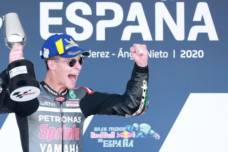 """""""Noch nicht realisiert"""": Fabio Quartararo nach seinem ersten MotoGP-Sieg"""