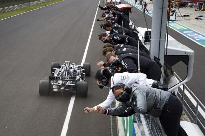 """Hamilton pfeift auf Mercedes-Ansage: """"Ich gebe keinen Punkt auf!"""""""
