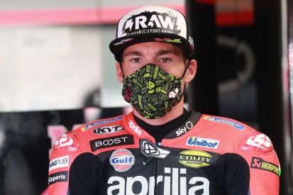 """Aprilia in Jerez: """"Verpasste Chance"""" - Aleix Espargaro ärgert sich über Sturz"""