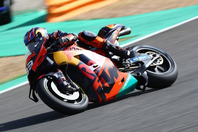 Sturz verhindert Sensation: Brad Binder in Jerez schnell genug für das Podium