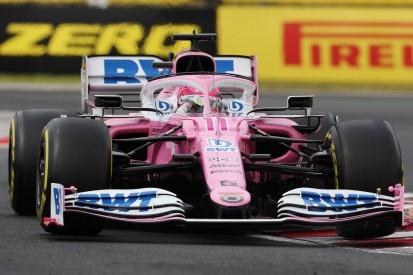 Save des Jahres: Perez fängt den Racing Point auf nasser Piste noch ab