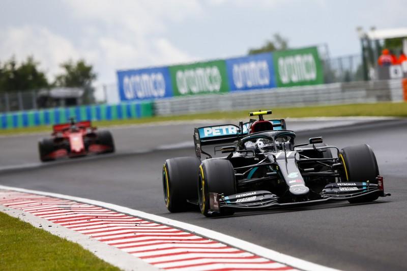 Mercedes unsicher über Performance bei heißem Wetter