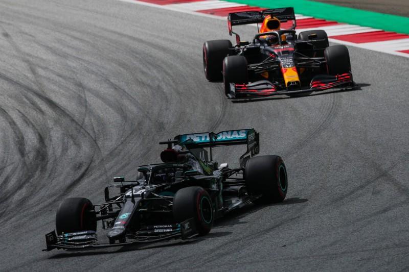 Wenn's knifflig wird: Hamilton und Verstappen in ihrer eigenen Liga