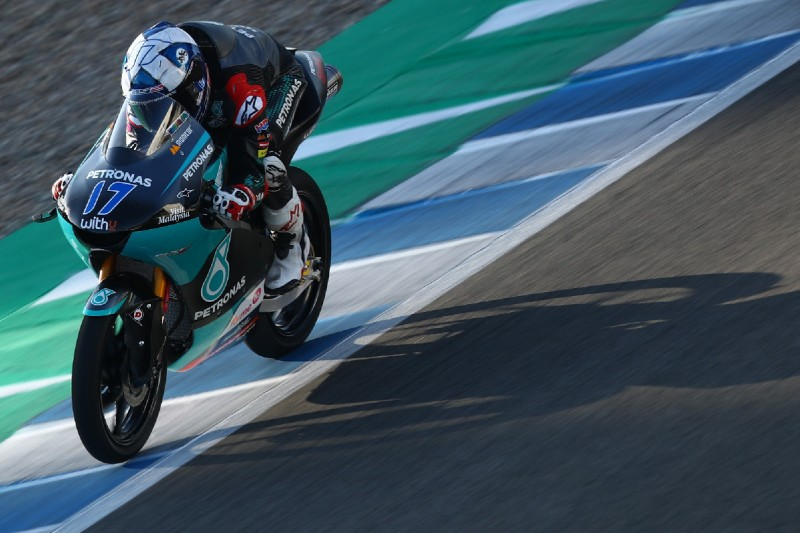 Moto3 Jerez (2) FT2: John McPhee mit starkem Lauf vor zwei KTMs