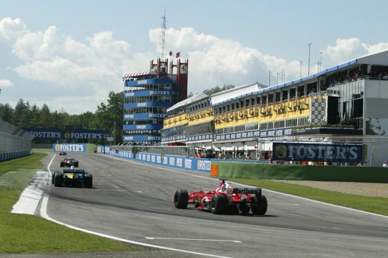 Nur Samstag und Sonntag: Formel-1-Event in Imola nur an zwei Tagen