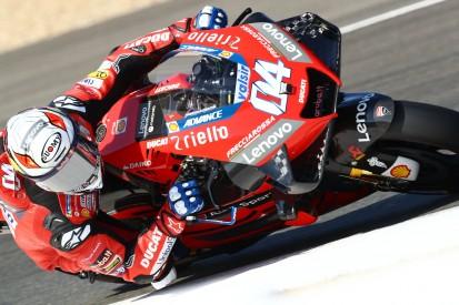 Dovizioso amüsiert sich über Einschätzung von Ducatis Performance