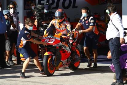MotoGP Jerez (2) FT3: Marquez muss bei Comeback in Q1, Vinales mit Rekord