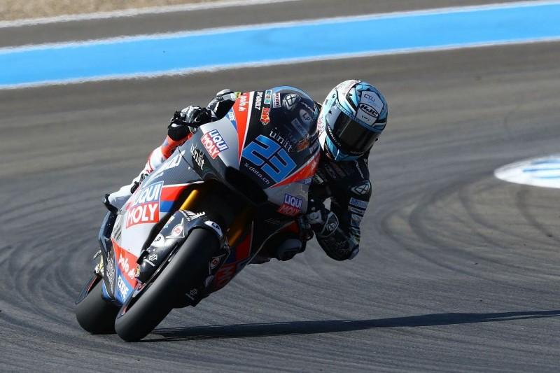 Moto2 Jerez (2) FT3: Martin hauchdünn vorn, Schrötter nicht direkt in Q2