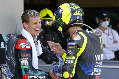 Ausgerechnet Jerez: Quartararo erstmals mit Jugendidol Rossi auf dem Podium