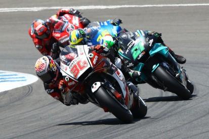 Plötzlich konkurrenzfähig: Nakagami versucht Marquez nachzuahmen