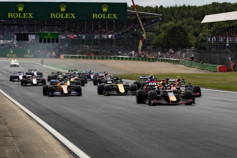 Alternatives Layout in Silverstone für Formel-1-Double-Header nie eine Option