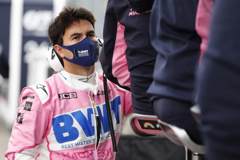 Kein eindeutiges Ergebnis: Sergio Perez nach COVID-19-Test isoliert