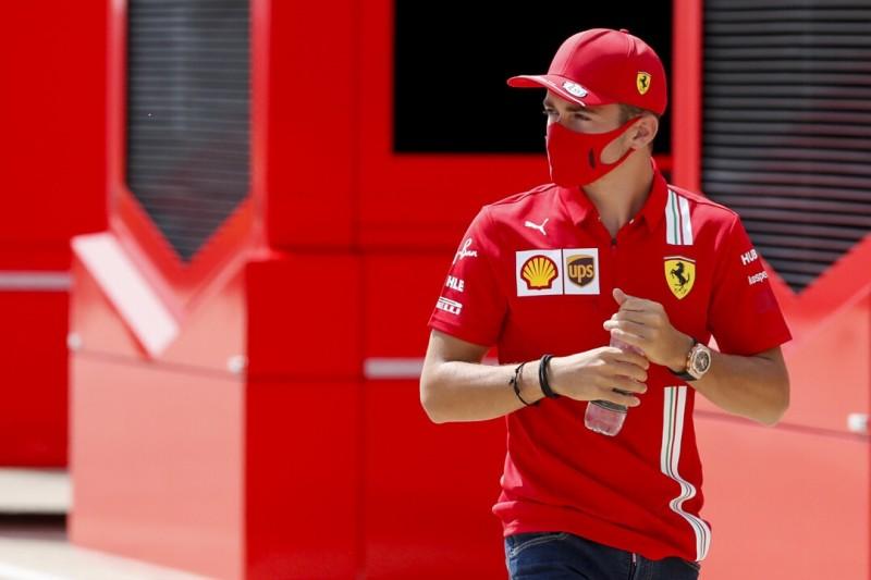 So reagiert Leclerc auf die Ansage des Ferrari-Präsidenten!