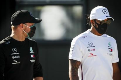 Frage nach Schwächen des W11: Betretenes Schweigen bei Mercedes-Duo