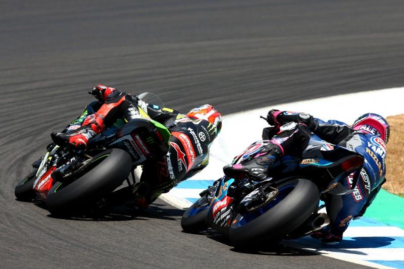 Jerez 2019: Warum Alex Lowes dankbar ist, dass ihn Jonathan Rea rammte