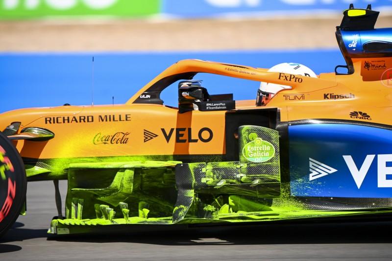 McLaren mit neuen Aero-Updates in Silverstone
