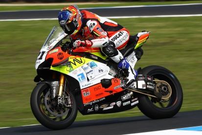 WSBK Jerez FT2: Ducati-Bestzeit, Sandro Cortese nur auf Position 20
