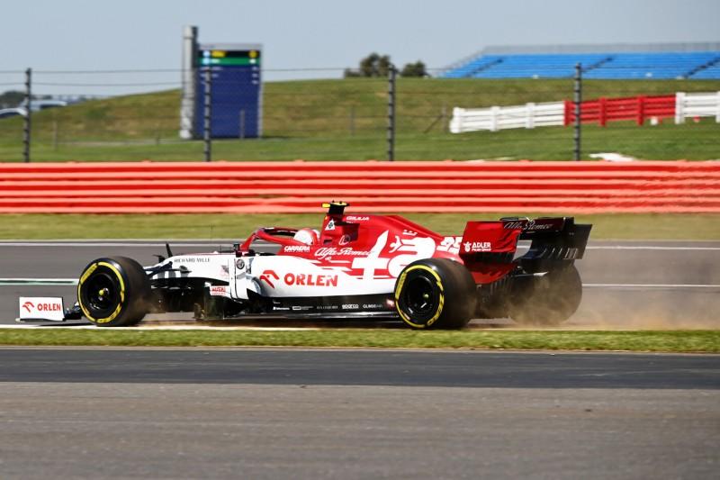 """Silverstone: Warum Antonio Giovinazzi nach FT1 """"verwarnt"""" wurde"""