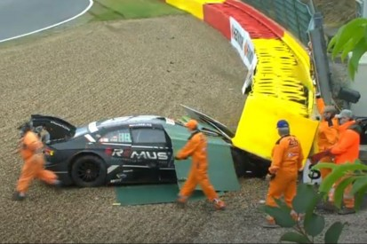 DTM-Training Spa: Habsburg zerstört Audi, Kubica stark