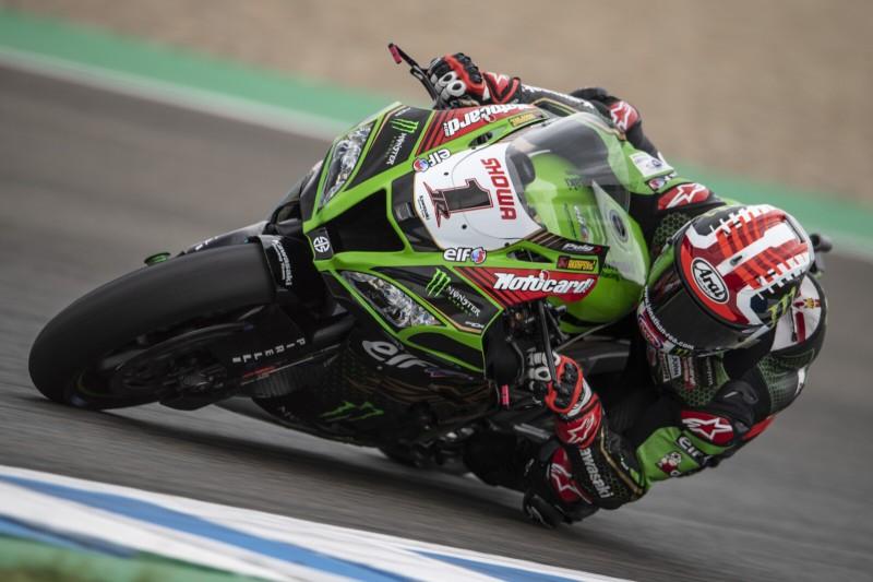 WSBK Jerez: Jonathan Rea dominiert Superpole-Rennen, Drama bei Yamaha