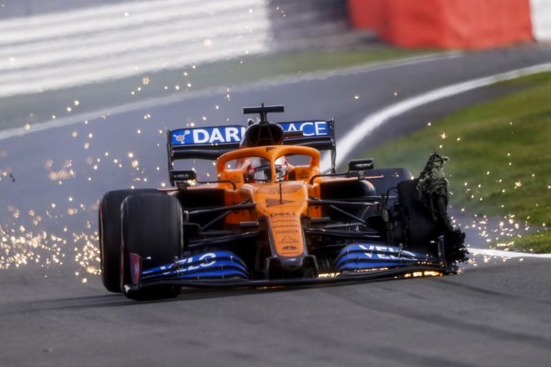 Höherer Luftdruck: Pirelli reagiert auf Silverstone-Reifenschäden