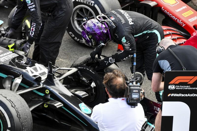 """Mercedes zu sorgenfrei: Hatten Reifenschäden """"nicht auf dem Schirm"""""""
