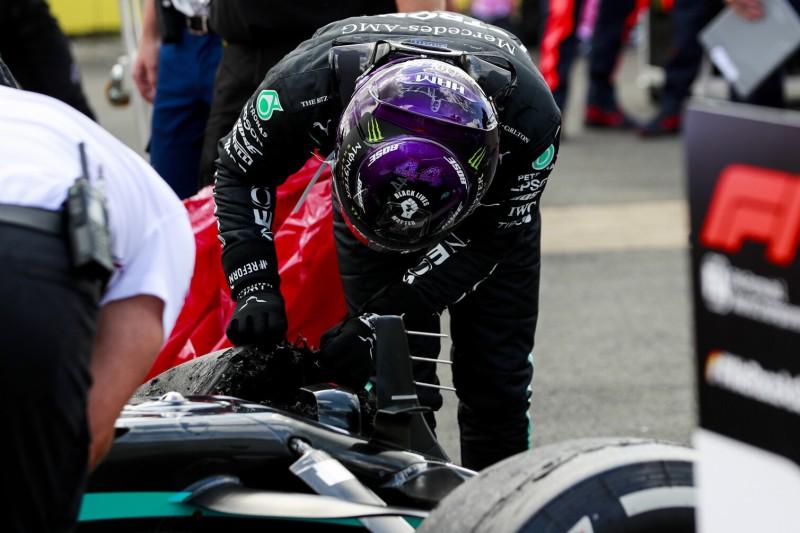 Mercedes-Reifenschäden in Silverstone: DAS hat keine Rolle gespielt