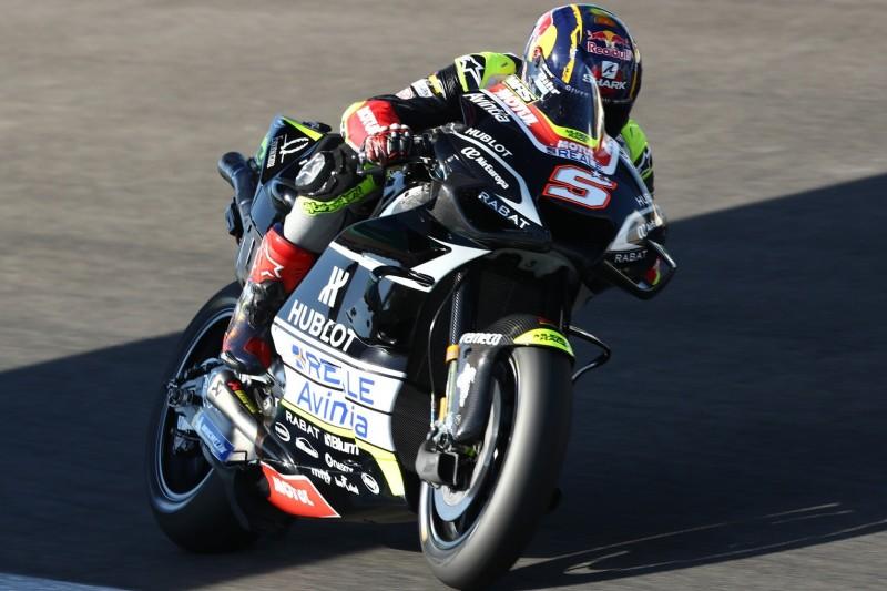 Zarco am Freitag schnellste Ducati, Dovizioso trotz Rückstand gelassen