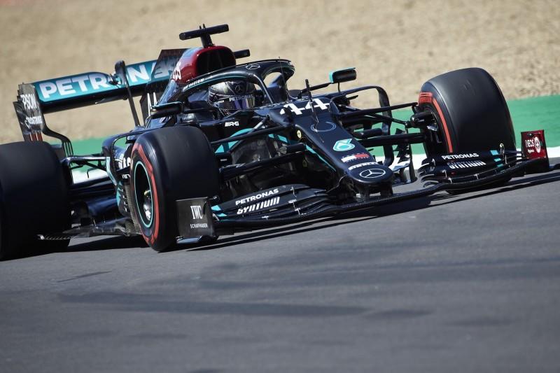 """Nach Freitagstraining: Mercedes-Form sieht """"ziemlich gut"""" aus"""