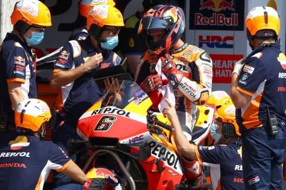 Honda in letzter Startreihe: Stefan Bradl einen Tick schneller als Alex Marquez