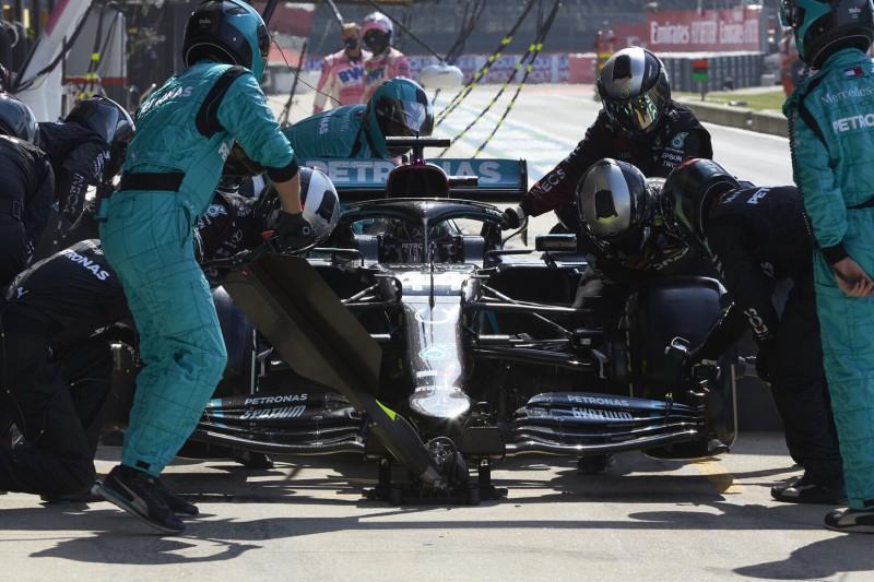 """Blasenbildung war """"hardcore"""": Hamilton hatte Angst vor erneutem Reifenplatzer"""