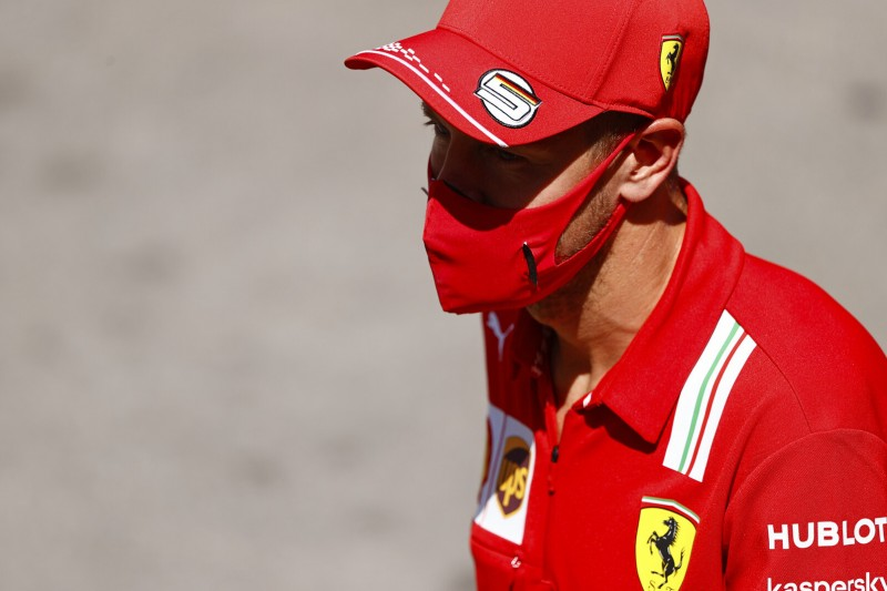 """""""Raue See"""" bei Ferrari: Vettel glaubt nicht an vorzeitiges Saisonende"""