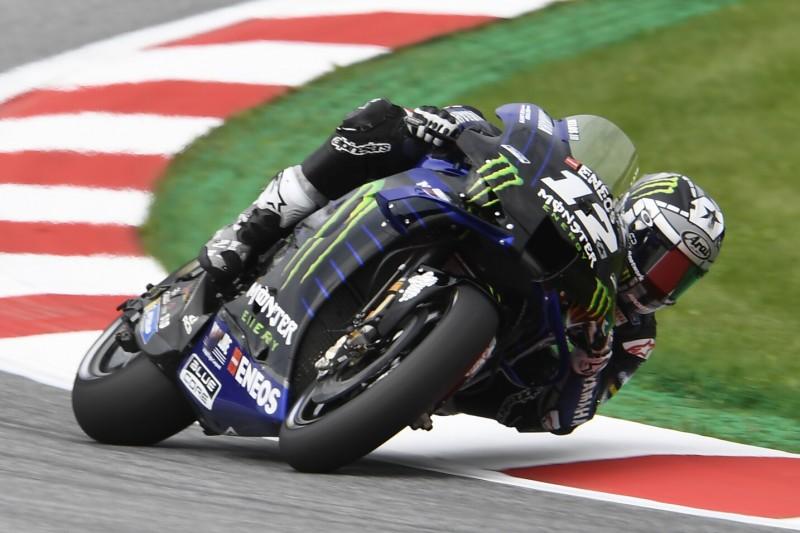 MotoGP Spielberg FT3: Vinales kämpft sich ins Q2, Rossi und Binder im Q1