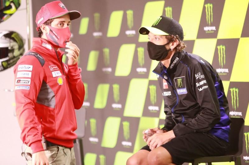 """Reaktionen auf Dovizioso-Aus bei Ducati: Rossi """"überrascht"""", Petrucci nicht"""