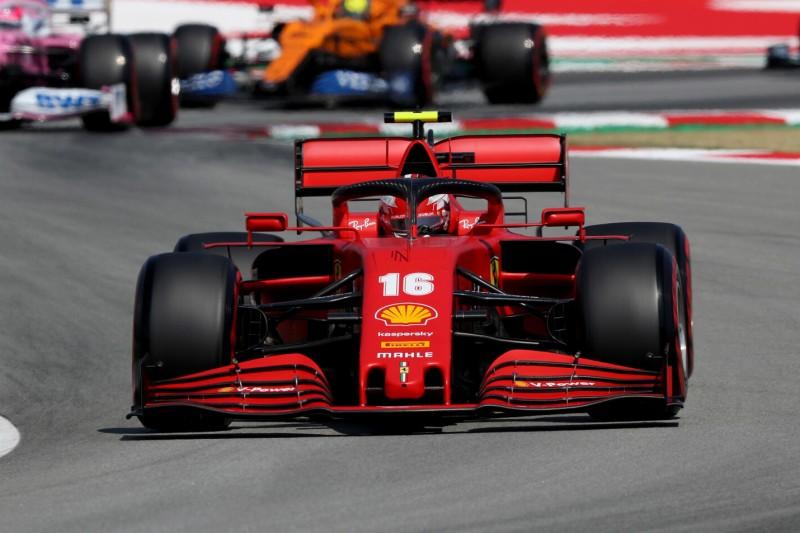 Warum Charles Leclerc trotz Duell-Sieg gegen Vettel so unzufrieden ist