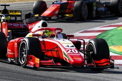 Formel 2 Barcelona 2020: Mick Schumacher als Dritter auf dem Podium
