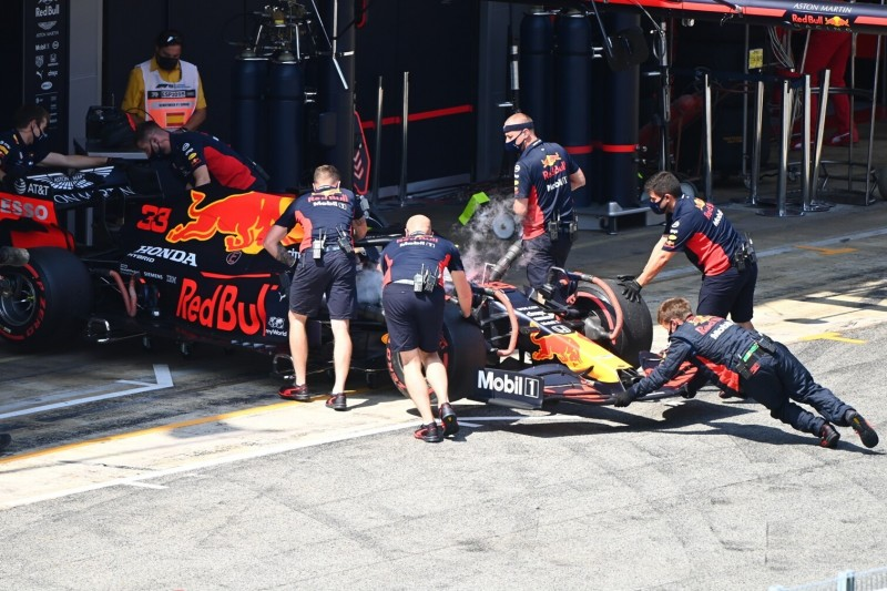 Vor dem Formel-1-Start in Barcelona: Motorwechsel bei Max Verstappen
