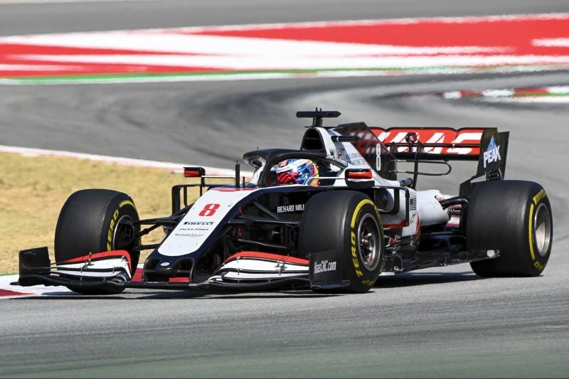Haas rätselt: Im Rennen zwei Sekunden langsamer als am Freitag